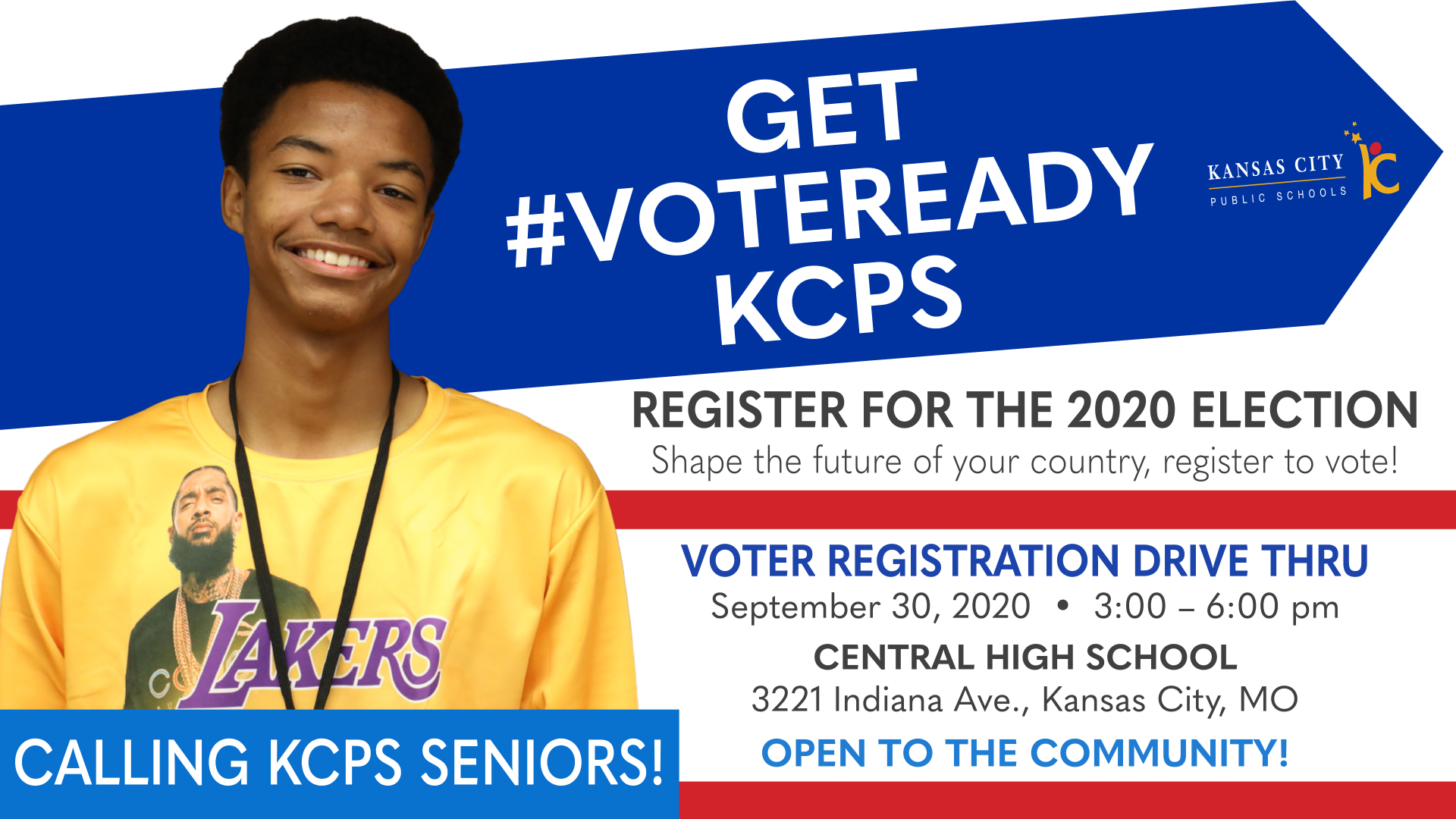 KCPS Hosting Voter Registration Drive Thru for Students